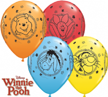 Winnie The Pooh Balloons - 11 Inch Balloons (25pcs)